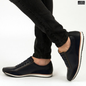 Pantofi ''Renda 34-6D Blue'' [S1F5]