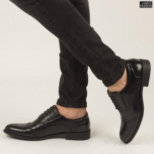 Pantofi ''Renda B86-1 Black'' [S1E2]