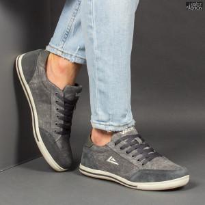 Pantofi Sport ''23DEC. 1321-C D. Grey'' [S16D2]