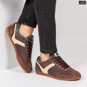 Pantofi Sport ''23DEC. M9029-06 Brown'' [S16E5]