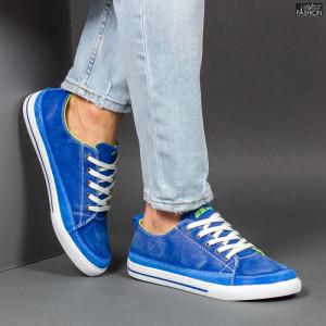 Pantofi Sport ''23DEC. M9030-16 Royal Green'' [S15E4]