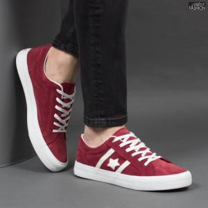 Pantofi Sport ''ABC H2206 Wine Red'' [S18B5]