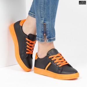 Pantofi Sport ''ALD Fashion HQ-109 Black''