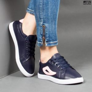 Pantofi Sport ''ALD Fashion HQ-118 Navy Pink''
