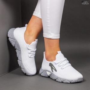 Pantofi Sport ''ALD Fashion HQ-202-235 White Grey '' [D4D7]