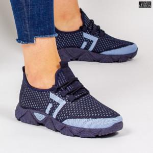 Pantofi Sport ''ALD Fashion HQ-203-241 Navy W. Blue'' [D14E1]