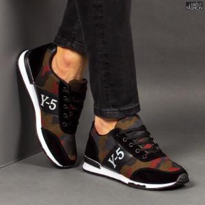 Pantofi Sport ''ALL Fashion 202 Black''
