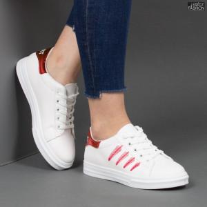 Pantofi Sport ''Fashion Style B28 Red'' [D23B9]