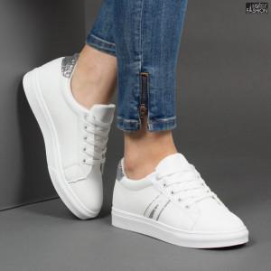 Pantofi Sport ''MERIDIAN Fashion 916 White Silver'' [D23F12]