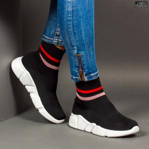 Pantofi Sport ''Se7.en D738 Black''