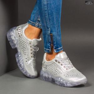 Pantofi Sport ''Se7.en X615 Silver''