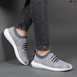 Pantofi Sport ''Taima Fashion 890-L Navy L.Grey White'' [S9B2]