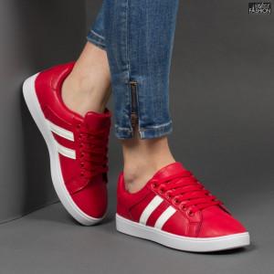 Pantofi Sport ''Veer Fashion A1803-5 Red'' [D10E8]