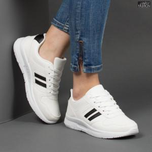 Pantofi Sport ''Veer Fashion A1816-2 White'' [D21D3]