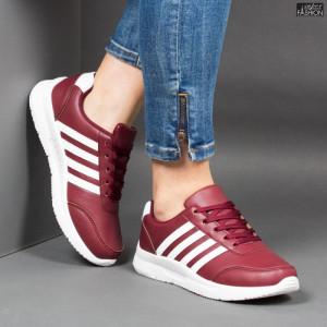 Pantofi Sport ''Veer Fashion A1817-4 Wine Red'' [D1E4]