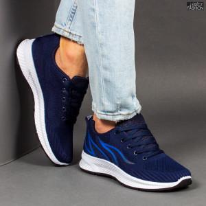 """Pantofi Sport """"WE Fashion G01-2 D. Blue R. Blue'' [S15D1]"""