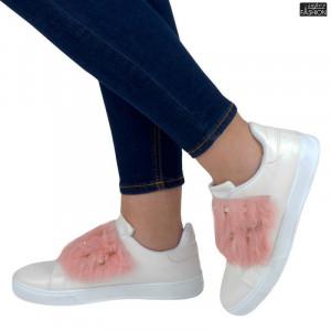 Pantofi Sport ''YiYi A-19 White/Pink''
