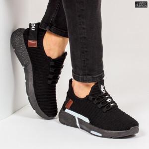 """Pantofi Sport """"Z Fashion ZM-11 Black White"""" [S10A1]"""