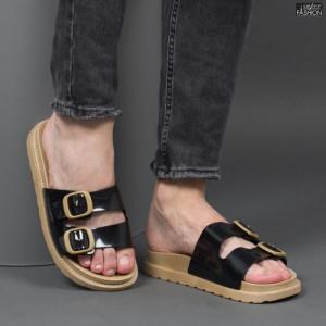 "Papuci ""Aierda B#8049 Black'' [S14B9]"