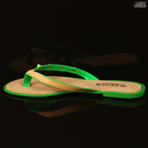 Papuci ''DeSun BH-130 Green'' [D23B9]