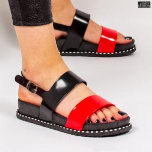 Sandale ''ALD Fashion HQ-L6093 Black Red'' [D18D7]