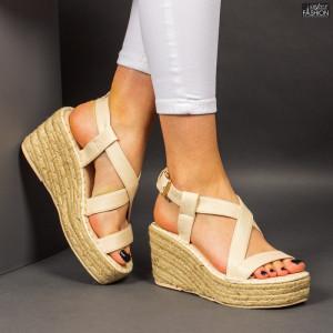 Sandale ''Bestelle Fashion JA002 Beige'' [D12E1]