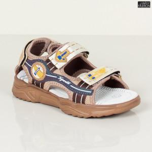 Sandale Copii ''DION Q13 Khaki'' [S11D1]
