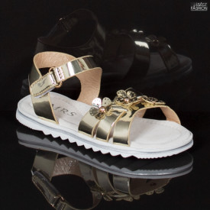Sandale Copii ''MRS R106 Gold'' [D1C9]
