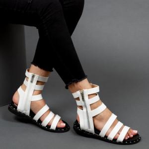 Sandale ''Mei Fashion QZL236 White'' [D7F4]