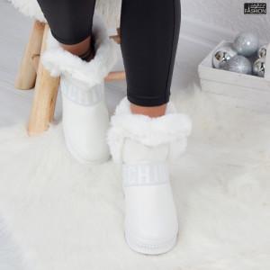 cizme dama albe