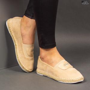 Espadrile ''Feet Fashion F-27 Beige'' [D3C7]