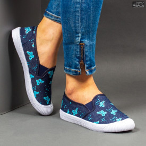 Espadrile ''WE Fashion 201-3 L. Blue''