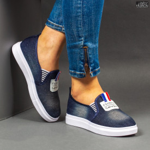 Espadrile ''WE Fashion C31 D. Blue''