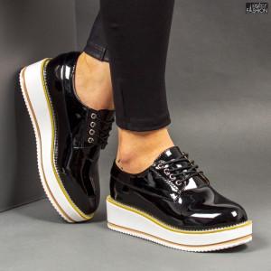 Pantofi ''Feet Fashion V16 Black'' [D15E7]