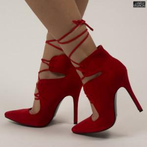 Pantofi ''Mei AF6102 Red''