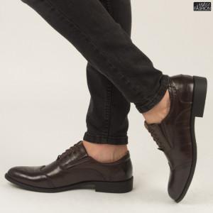 Pantofi ''Renda B86-1B Brown''