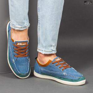 Pantofi Sport ''23DEC. M9033-12 Blue Brown'' [S14E5]