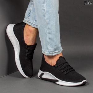 Pantofi Sport ''ABC 9081 Black White'' [S21E7]