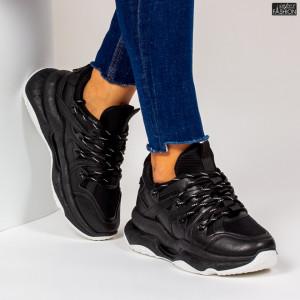 Pantofi Sport ''ABC W6615 Black''