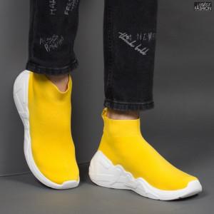 """Pantofi Sport """"Aierda ZL-1953-3 Yellow'' [S7E1]"""
