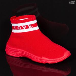 Pantofi Sport Copii ''Meek YF-102 Red'' [D10C3]
