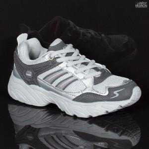 Pantofi Sport Copii ''Veer Fashion 5138 Grey Pink'' [S13A1]