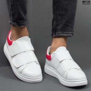 Pantofi Sport ''DCF.68 B83 White Red'' [S3E7]