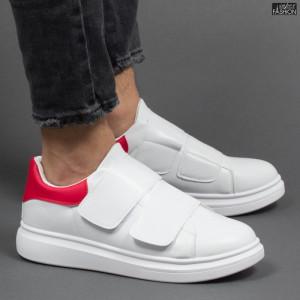 Pantofi Sport ''DCF.68 B83 White Red''