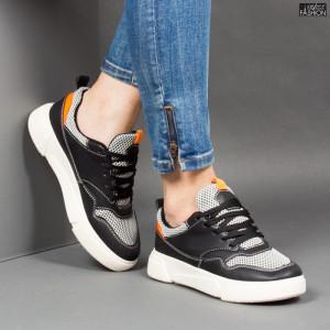 Pantofi Sport ''DON Fashion AN-25 Black '' [D3B4]