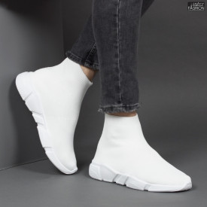 Pantofi Sport ''Fashion 5103 White'' [S7B4]