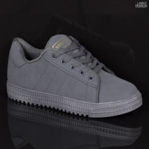 Pantofi Sport ''Fashion F-6 Grey'' [D23E11]