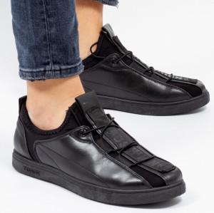 Pantofi sport ''Khatlon 1802 Black'' [S23E12]