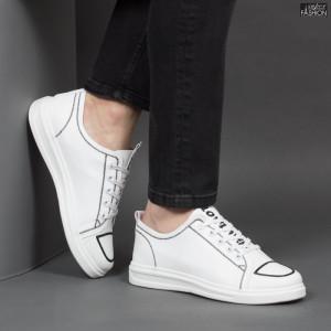 Pantofi Sport ''Lavy 909 White'' [S8B3]