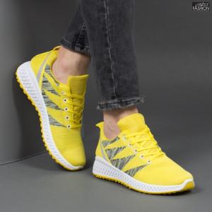 Pantofi Sport ''Meek F-906 Yellow'' [S10C1]